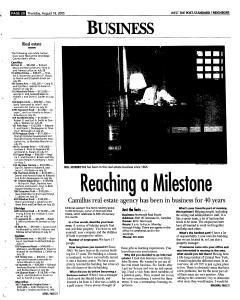 Syracuse Post Standard, August 18, 2005, Page 235