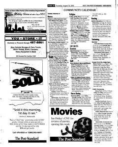 Syracuse Post Standard, August 18, 2005, Page 245