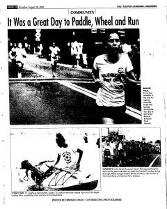 Syracuse Post Standard, August 18, 2005, Page 247
