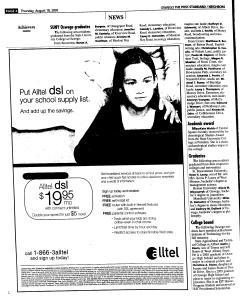 Syracuse Post Standard, August 18, 2005, Page 345