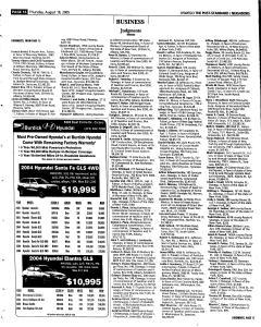 Syracuse Post Standard, August 18, 2005, Page 357