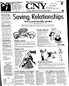 Syracuse Post Standard, August 18, 2005, Page 31