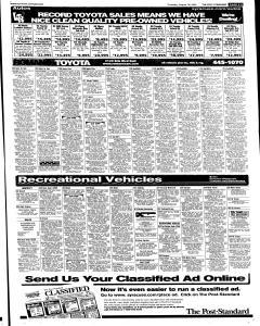 Syracuse Post Standard, August 18, 2005, Page 41