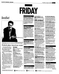 Syracuse Post Standard, August 18, 2005, Page 53