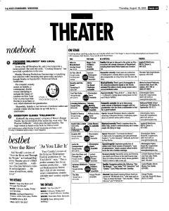Syracuse Post Standard, August 18, 2005, Page 77