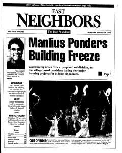 Syracuse Post Standard, August 18, 2005, Page 81