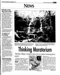 Syracuse Post Standard, August 18, 2005, Page 83