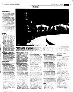 Syracuse Post Standard, August 18, 2005, Page 95