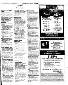 Syracuse Post Standard, August 18, 2005, Page 103