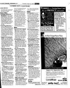 Syracuse Post Standard, August 18, 2005, Page 107