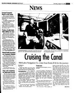 Syracuse Post Standard, August 18, 2005, Page 115