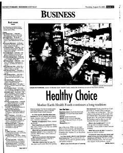 Syracuse Post Standard, August 18, 2005, Page 133