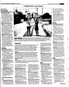 Syracuse Post Standard, August 18, 2005, Page 141