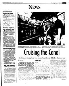 Syracuse Post Standard, August 18, 2005, Page 151