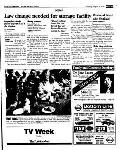 Syracuse Post Standard, August 18, 2005, Page 159