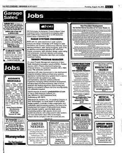 Syracuse Post Standard, August 18, 2005, Page 181