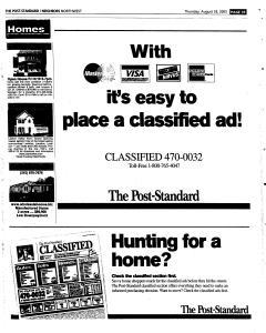 Syracuse Post Standard, August 18, 2005, Page 183