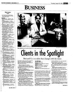 Syracuse Post Standard, August 18, 2005, Page 199