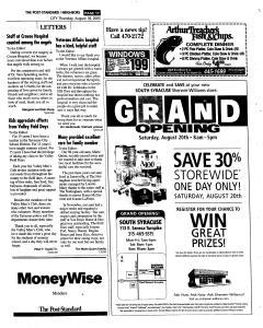 Syracuse Post Standard, August 18, 2005, Page 201