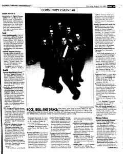 Syracuse Post Standard, August 18, 2005, Page 211