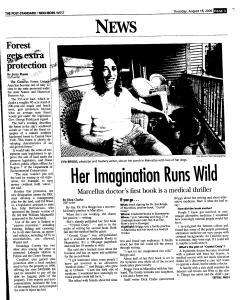 Syracuse Post Standard, August 18, 2005, Page 219