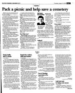 Syracuse Post Standard, August 18, 2005, Page 221