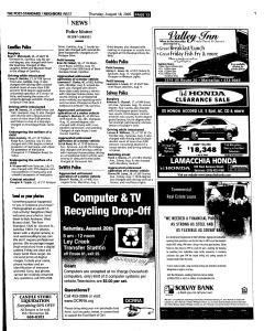 Syracuse Post Standard, August 18, 2005, Page 229