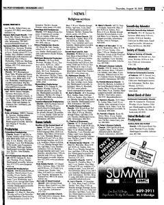 Syracuse Post Standard, August 18, 2005, Page 242