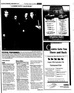 Syracuse Post Standard, August 18, 2005, Page 244