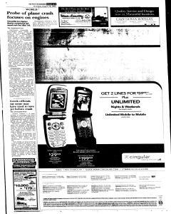 Syracuse Post Standard, August 18, 2005, Page 256