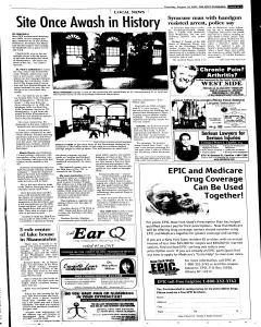 Syracuse Post Standard, August 18, 2005, Page 266
