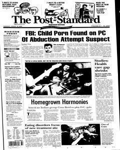 Syracuse Post Standard, August 18, 2005, Page 270
