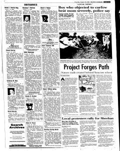 Syracuse Post Standard, August 18, 2005, Page 286