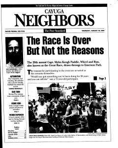 Syracuse Post Standard, August 18, 2005, Page 306