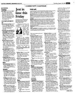 Syracuse Post Standard, August 18, 2005, Page 334