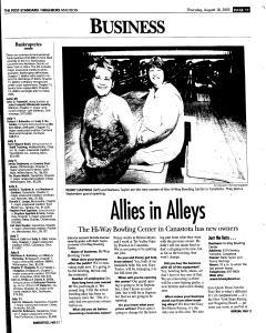 Syracuse Post Standard, August 18, 2005, Page 336