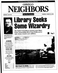 Syracuse Post Standard, August 18, 2005, Page 342