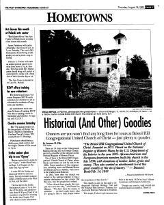 Syracuse Post Standard, August 18, 2005, Page 348