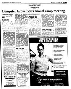 Syracuse Post Standard, August 18, 2005, Page 350