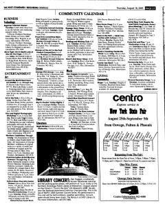 Syracuse Post Standard, August 18, 2005, Page 362