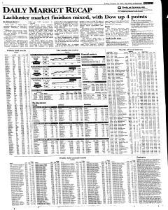 Syracuse Post Standard, August 19, 2005, Page 33