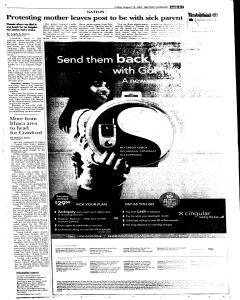 Syracuse Post Standard, August 19, 2005, Page 77