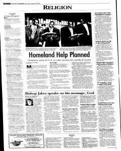 Syracuse Post Standard, August 20, 2005, Page 14