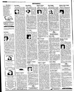 Syracuse Post Standard, August 20, 2005, Page 81