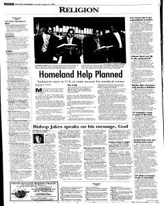 Syracuse Post Standard, August 20, 2005, Page 83