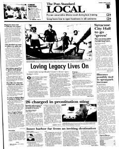 Syracuse Post Standard, August 20, 2005, Page 9