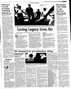Syracuse Post Standard, August 20, 2005, Page 82