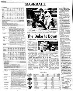 Syracuse Post Standard, August 21, 2005, Page 38