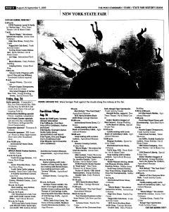 Syracuse Post Standard, August 21, 2005, Page 133