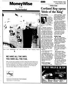 Syracuse Post Standard, August 21, 2005, Page 151